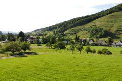 mit herrlichem Ausblick ins Grüne