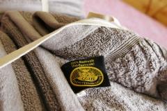 mit Handtüchern aus Bio-Baumwolle