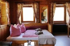 Sofabett ausgezogen