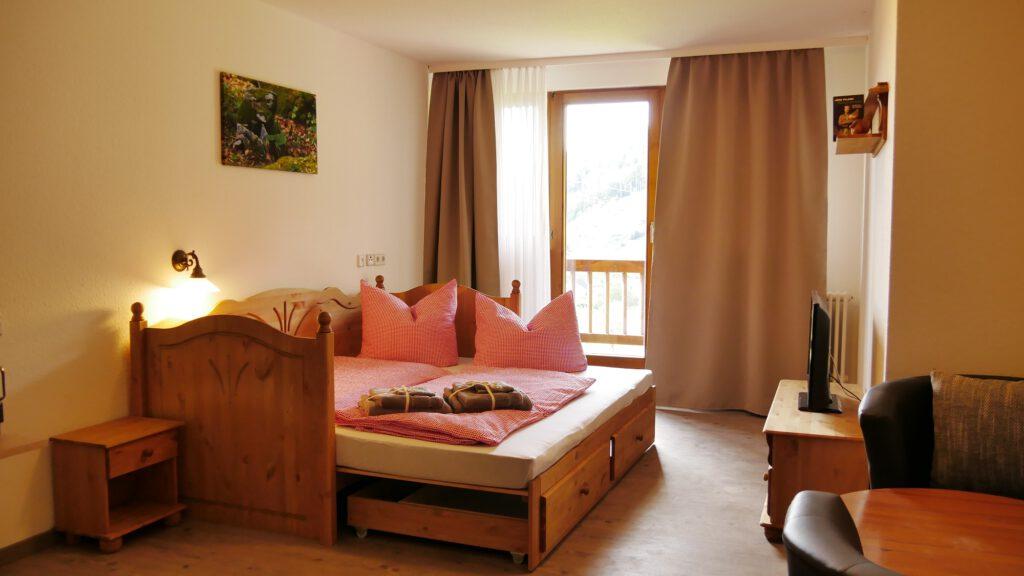 Wohnbeispiel Doppelzimmer Standard mit Sofabett