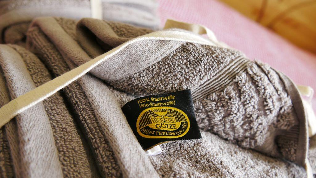 kuschelige Handtücher aus Bio-Baumwolle